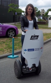 Segway promo shield